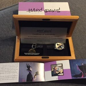 DISNEY'S Limited Edition Series Maleficent Watch